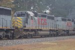 KCS SD40-3 675